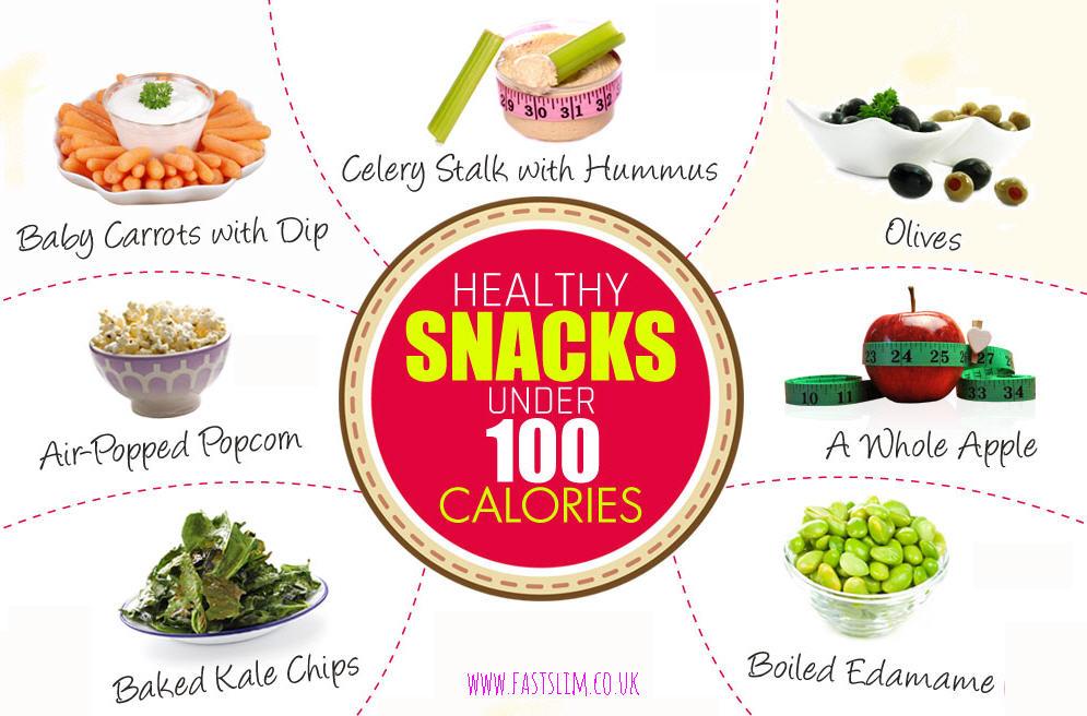60 Snacks under 100 Calories