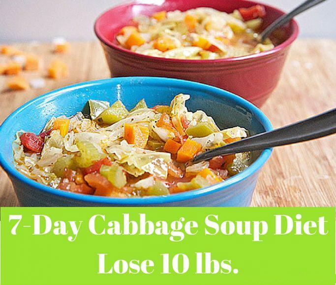 7 Days  Cabbage Soup Diet