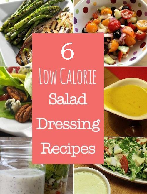 Healthy Low Calorie Salad Dressings
