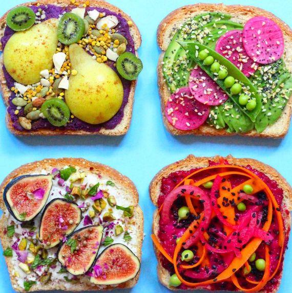 Creative and Healthy Toast Ideas