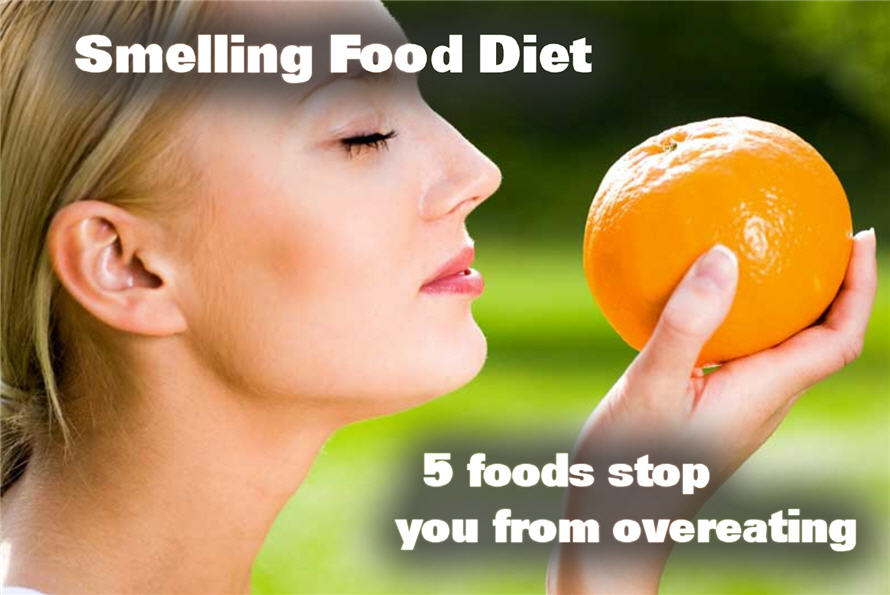 Smelling 5 Foods Therapy-To Lose Weight