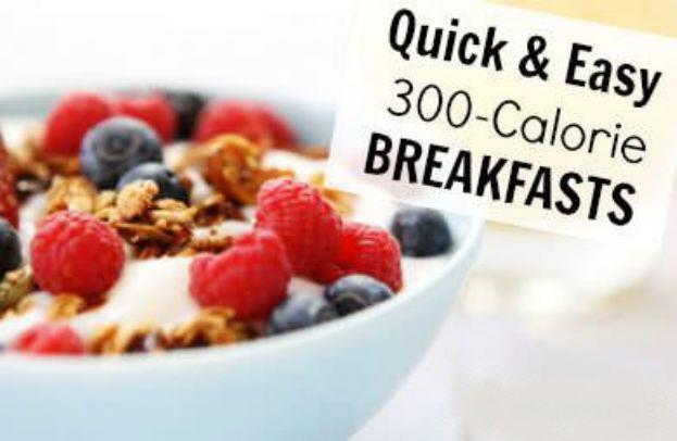 The Best Breakfast Under 300 Calories