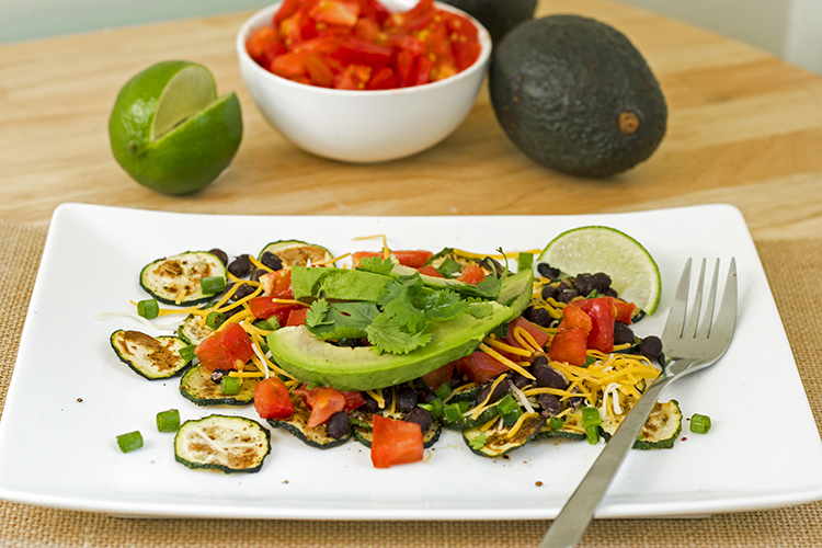 Veggie Black Bean Nacho Recipe