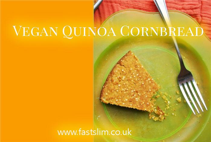 Vegan Quinoa Cornbread Recipe