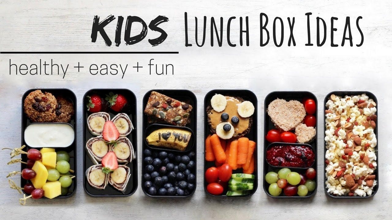 Easy And Healthy Lunch Box Ideas For Kids