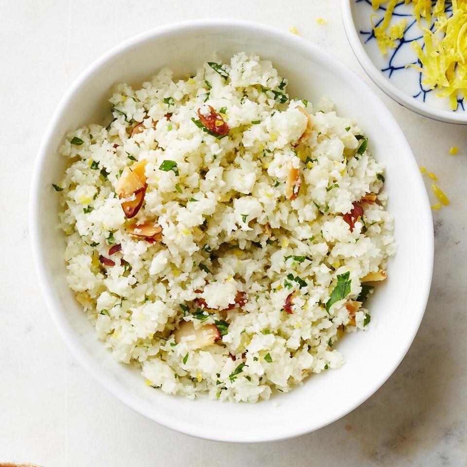 Cauliflower Rice Pilaf Recipe